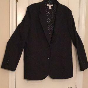 Chicos classic Black blazer